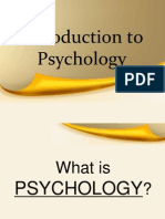 general psychology