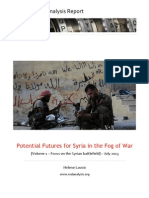 Potential Futures for Syria in the Fog of War