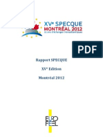 Rapport SPECQUE Montréal