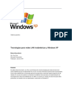 Tecnologías Para Redes Lan Inalámbricas Y Windows Xp