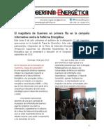 16.- El magisterio de Guerrero en primera fila en la campaña informativa contra la Reforma Energética