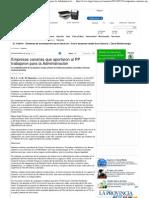 Empresas canarias que aportaron al PP trabajaron para la Administración - La Provincia - Diario de Las Palmas
