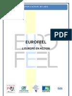 Rapport d'activité Eurofeel 2011-2012