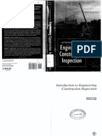 Introduction to Engineering Construction Inspection
