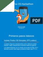 Firefox OS Hackaton with Litipk & Uikú (Slides)