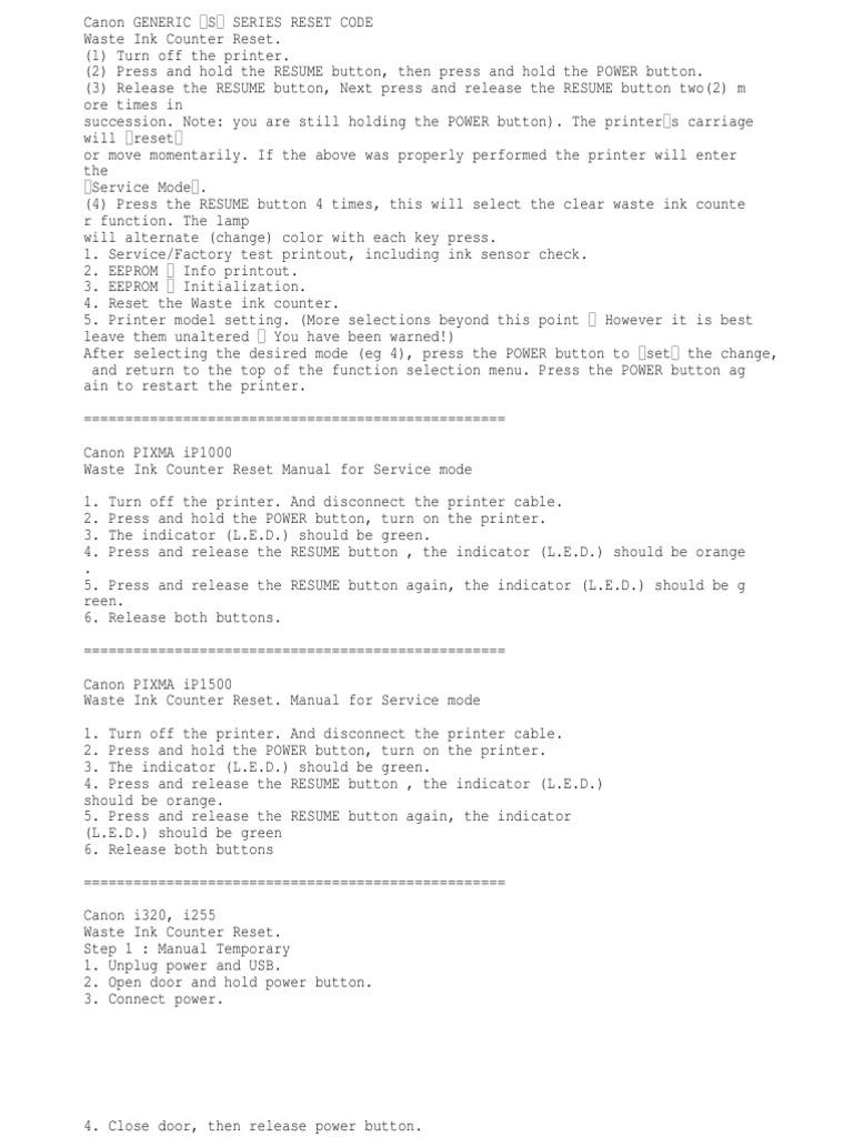 Kode Rahasia Printer Canon Computing Manufactured Goods Cord Wiring White Black Green 3