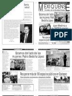 Versión impresa del periódico El mexiquense  15 julio 2013
