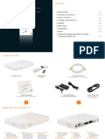 Orange Decodeur TV UHD86 Notice Mode Emploi Guide Manuel