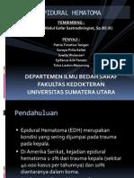 Epidural Hematoma Ppt