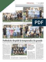 Publireportaje Fin de Temporada 2012-2013 en Futbolcity