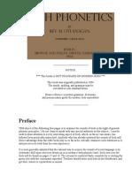 O'Flanagan - Irish Phonetics