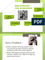 Ibnu Khaldun Tokoh Sejarawan Ulung