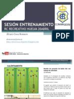 55830704 Sesion de Entrenamiento Recreativo Huelva
