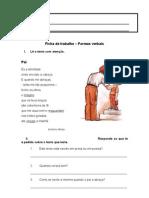 Língua Portuguesa_Formas Verbais