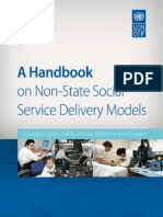 A handbook on non-state social service delivery models