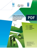 Achievements and perspectives towards a green economy and sustainable growth in Serbia