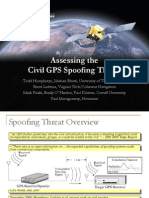 Assessing Spoofing Threat