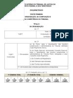 Regimento Interno Do TJDFT - Esquematizado