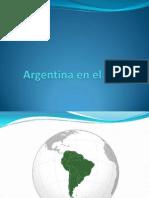 Argentina en El Mundo Pwp