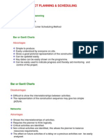 Project Management Lecture Note 8A1 - Project Scheduling