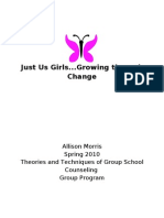 Group Counseling outline for elementary aged girls