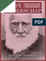 (recensie) Agapè Leiderschap – Biografie Robert Chapman