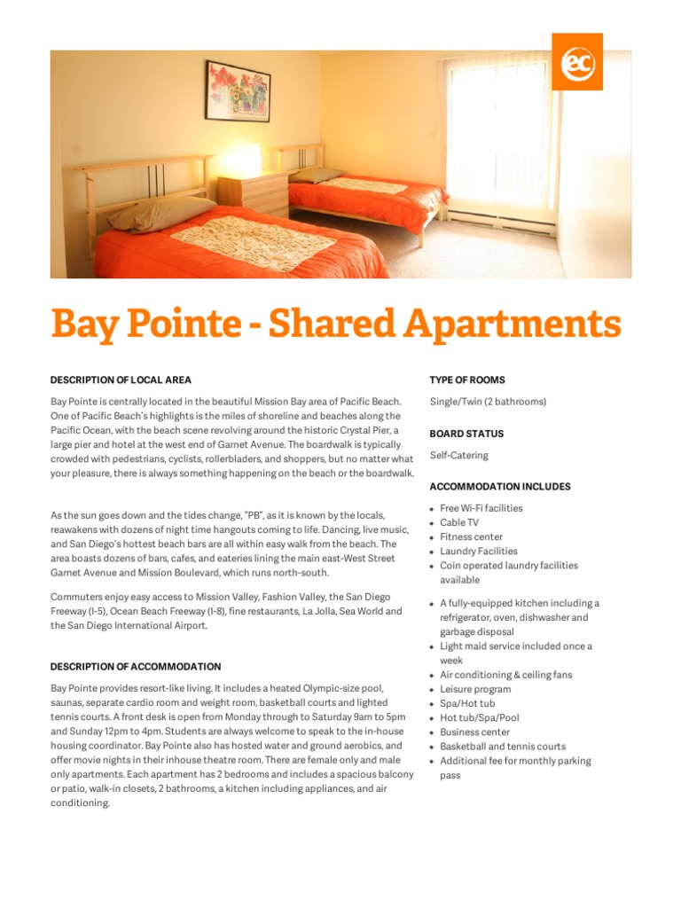 Shared apartment san diego