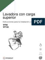 Indesit Wt-82 Manual