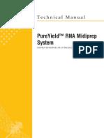 PureYield RNA MidiPrep System Protocol