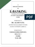 e Banking Report