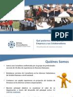 Presentacion Arista Consultores 2013