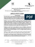 Local VET Experts Applications - Final (1)
