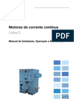 Manual - Motor de Corrente Contínua