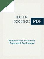 IEC EN 62053-22