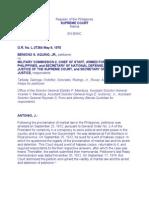 Aquino v Military Commission