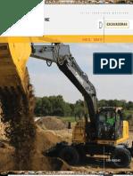 Catalogo Excavadoras Hidraulicas 190 220 Dw John Deere