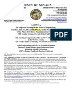 Nevada County BOS Agenda for July 16
