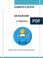 4-Os Quarenta Ditos an Nawawi 4 Bimestre Ilaei