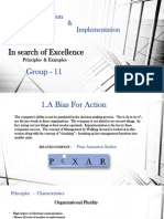 "Learnings form ""In search of Excellence:"