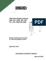 700 Series Dynamics Adj Procedure 01304A