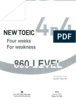4n4 New Toeic 860 Level