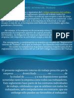 diapositivas raglamento