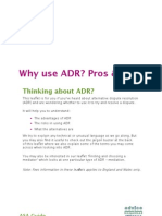 Why Use ADR001