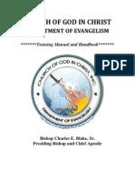 Cogic Idoe Handbook 2013