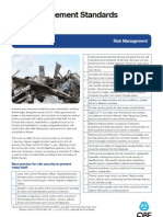 QBE Casualty Risk Management Standards Metal Theft