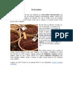 El café orgánico