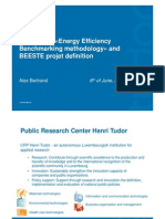BESTE Energy Efficiency Benchmark Methodology