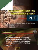 Emergency Bedah Saraf