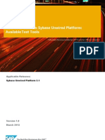 How to Test the Sybase Unwired Platform - Available Test Tools