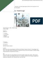 Lyono Blog_ Final Fantasy III_ FAQ _ Walkthrough